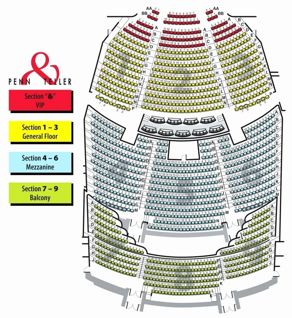 Beacon Theater Detailed Seating Chart