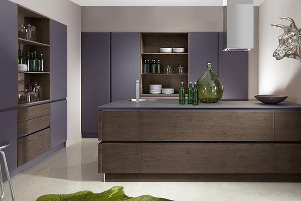 cuisine quip e allemande de marque schroeder gamme oakline de style design elle est. Black Bedroom Furniture Sets. Home Design Ideas