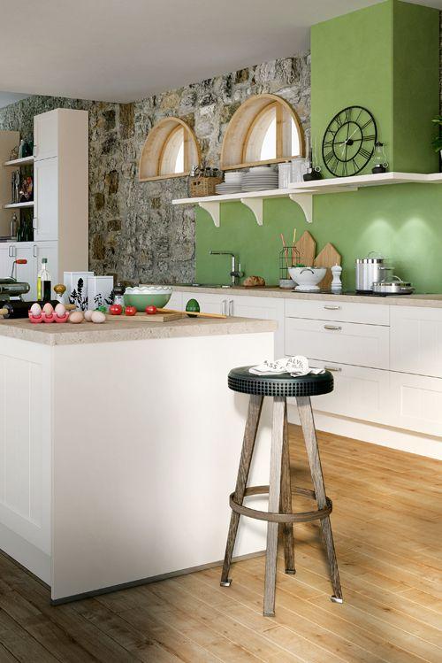 Moderne Landhausküchen laden mit ihrem Charme zum Kochen und - küche aus paletten