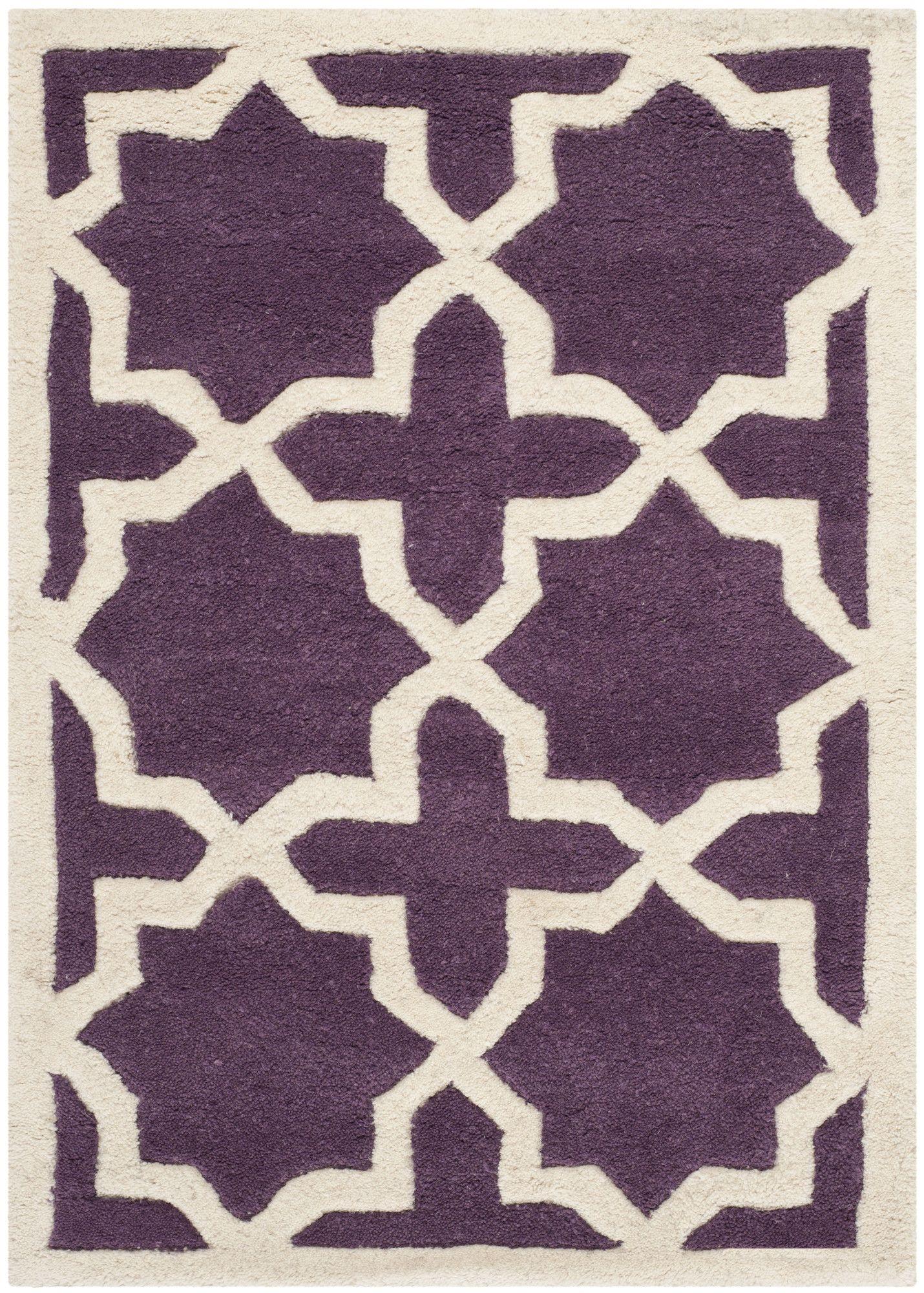 Purple Rugs with Geometric Patterns Purple Bedroom Ideas Purple