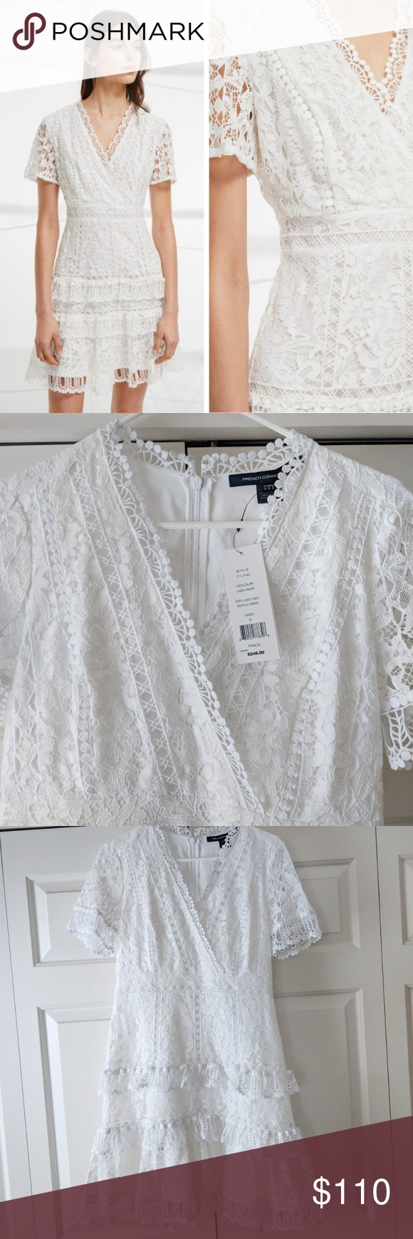 886f71d3a23 Arta Lace Ruffle Dress - French Connection Beautiful dress, just turned out  to be a