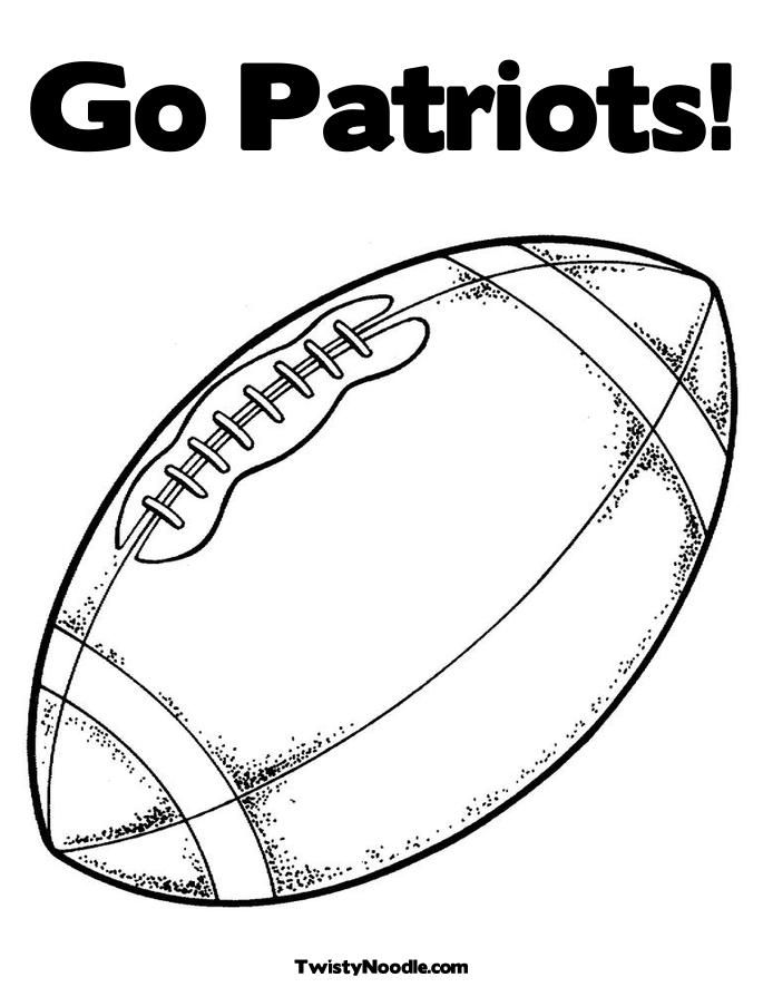 coloring pages new england patriots 01 - Football Printable Coloring Pages