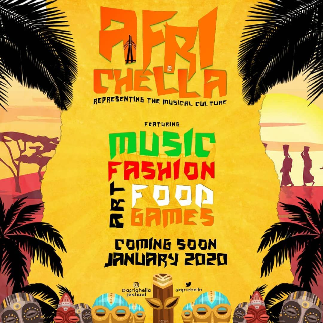 Designed for africhellafestival DM for your Flyer Design