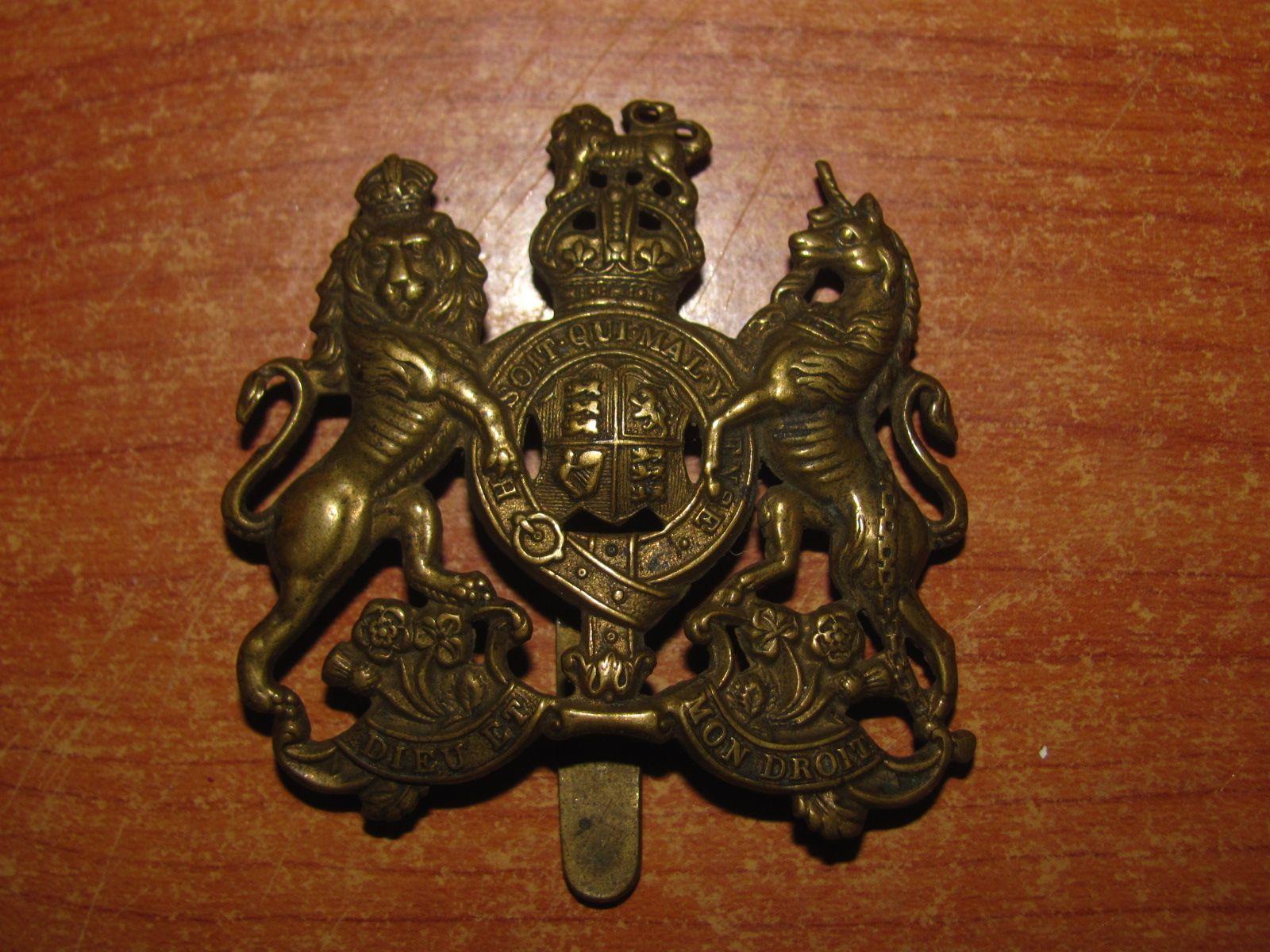 cap badge du General Service Corps (UK)