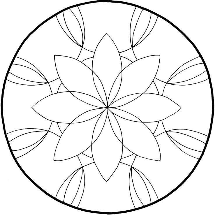 Mandalas Zum Ausdrucken Blumen Frobel Mandalas Zum Ausdrucken Mandalas Zum Ausmalen Ausmalen