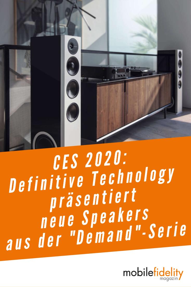 Ces 2020 Definitive Technology Zeigt Neue Demand Speakers News Mobilefidelity Magazin In 2020 Center Lautsprecher Neue Wege Standlautsprecher