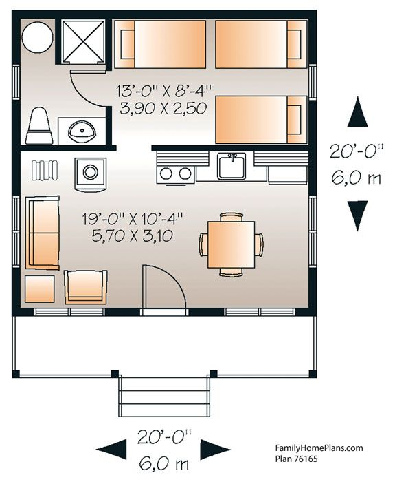 tiny house design - Tiny House Floor Plans