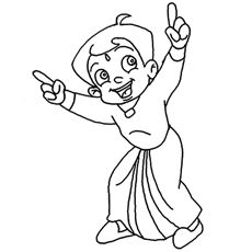 Chhota Bheem Coloring Pages Games. Want to introduce your little tod the world of Chota Bheem adventures  with colors Check out these 10 amazing free printable coloring pages Top 25 Free Printable Coloring Pages Online