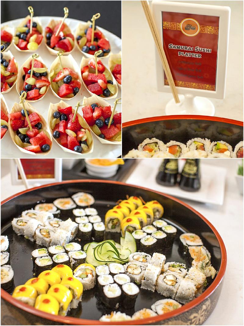 A Japanese Origami Dojo Ninja Birthday Party Birthdays Birthday