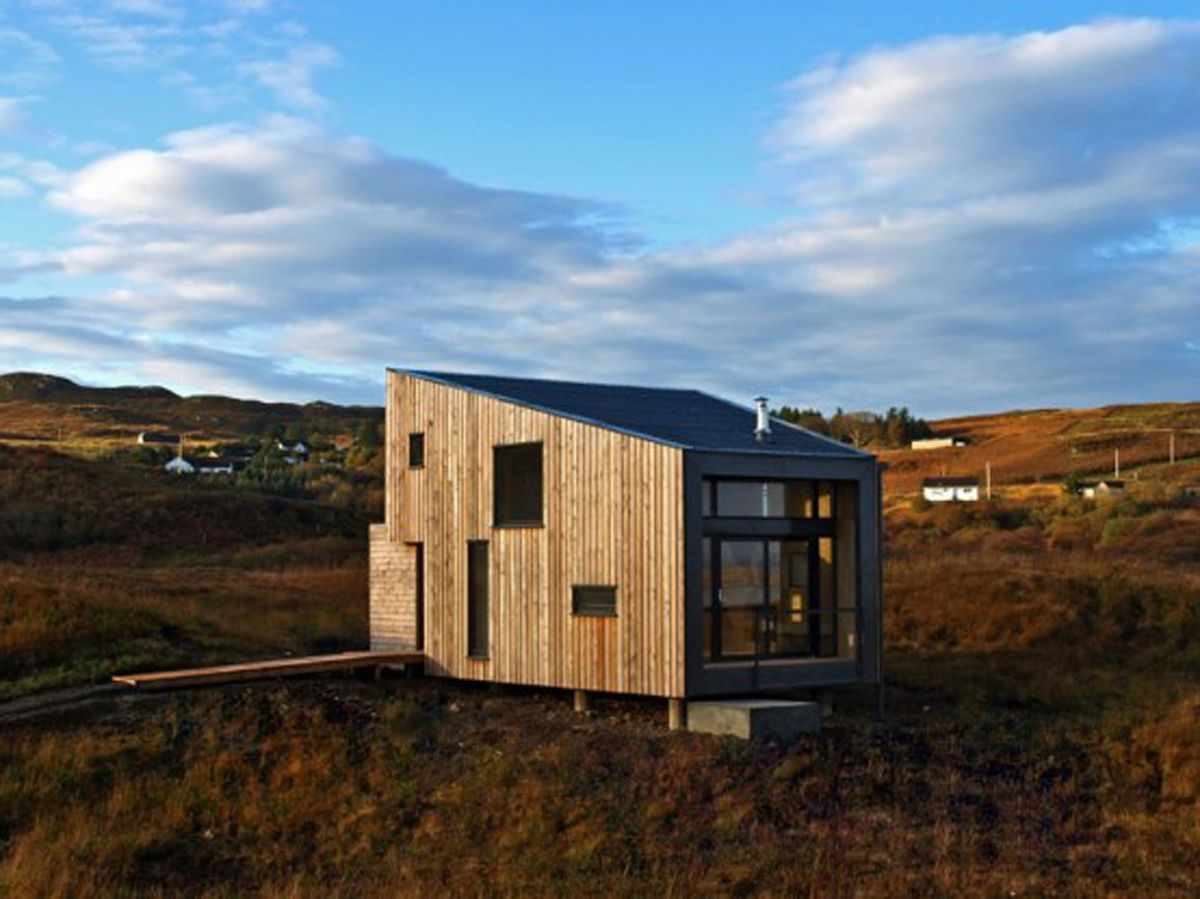 Small Houses Design narrow modern small house design Small House Design Fiscavaig Holiday House Scottish