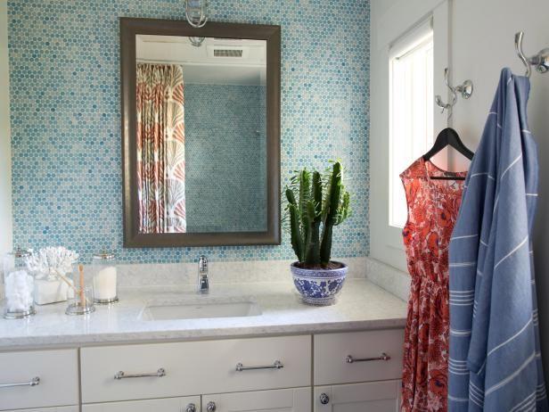 Dream Home Guest Bathroom Towels Hgtv And Bath - Plush towels for small bathroom ideas