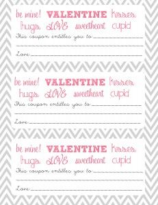 free printable valentine coupon template by courtney wheeler