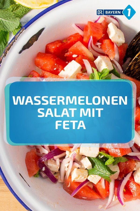 Wassermelonensalat #melonrecipes