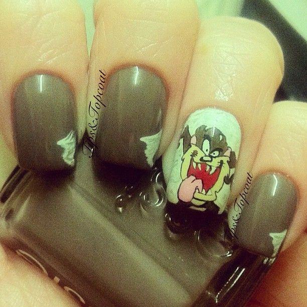 Taz Nails | Taz | Pinterest