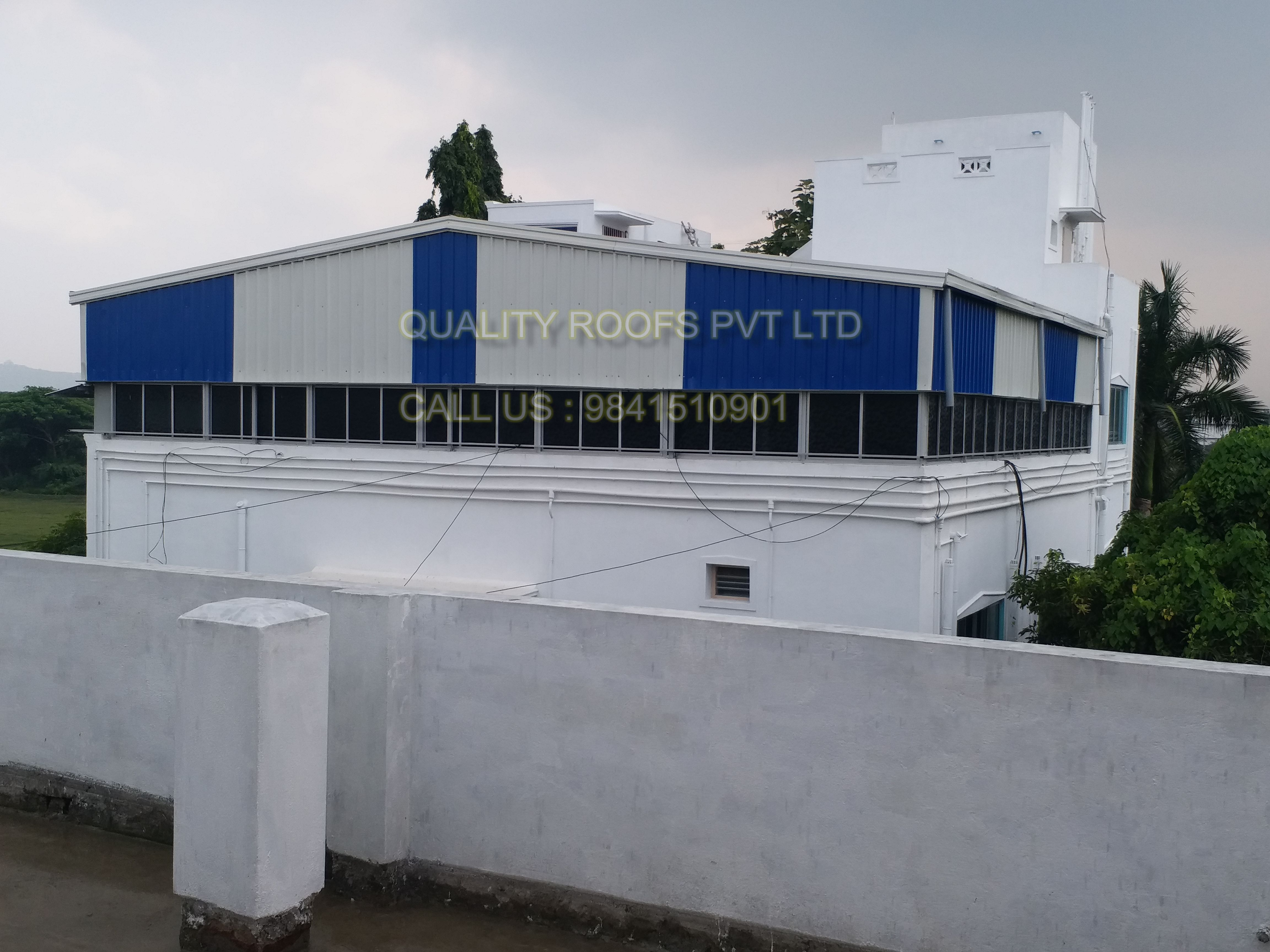 We Are Leading Terrace Roofing Contractors In Chennai Undertaking All Kinds Of Terrace Roofing Shed Works At Very Comp In 2020 Roof Design Roof Architecture Patio Roof
