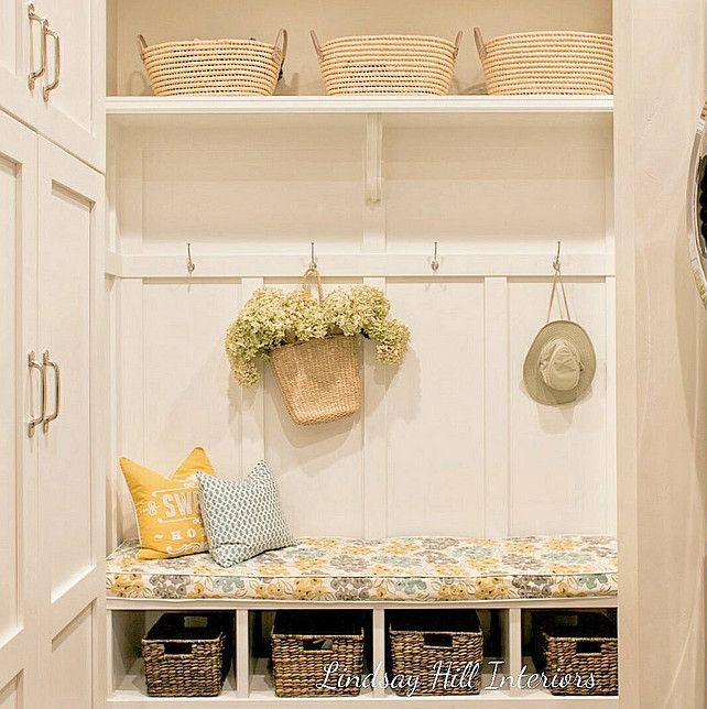 Mudroom Decor. Mudroom Baskets. Mudroom Design. Mudroom Paint Part 40