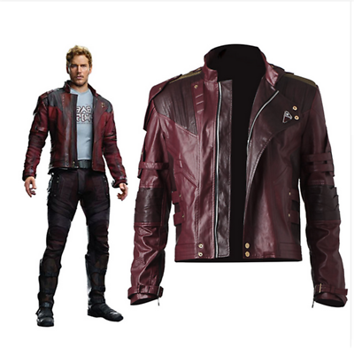 Guardians of the Galaxy 2 Star-Lord Peter Quill Cosplay Coat Jacket Pants Shirt