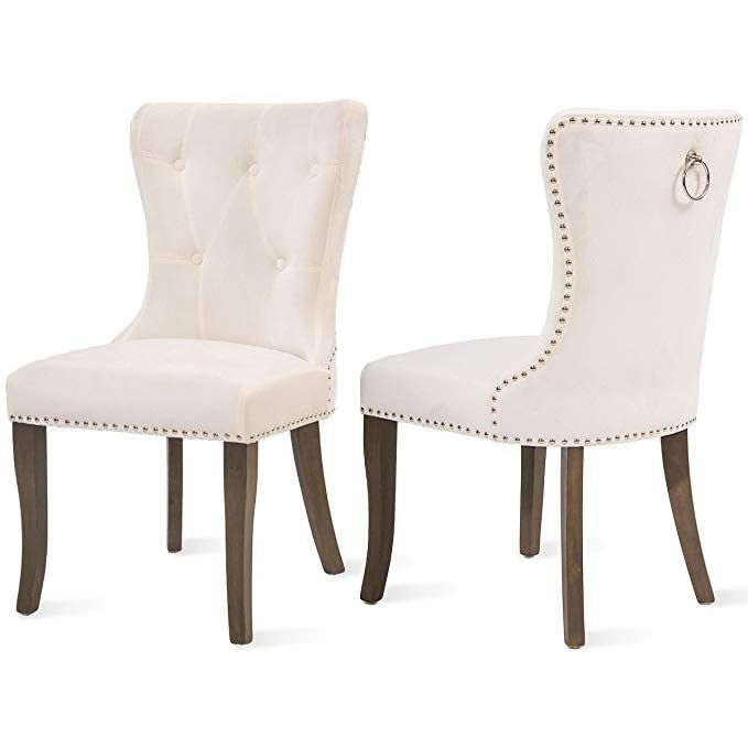 Best Amazon Com Dining Chairs Set Of 2 Upholstered Accent 400 x 300