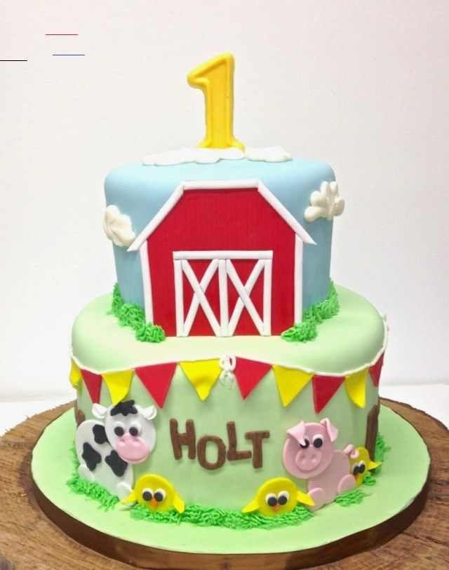 Photo of 23+ Kreatives Bild von Farm Birthday Cake – berechtigungstrap.com 23+ Creative Pi …