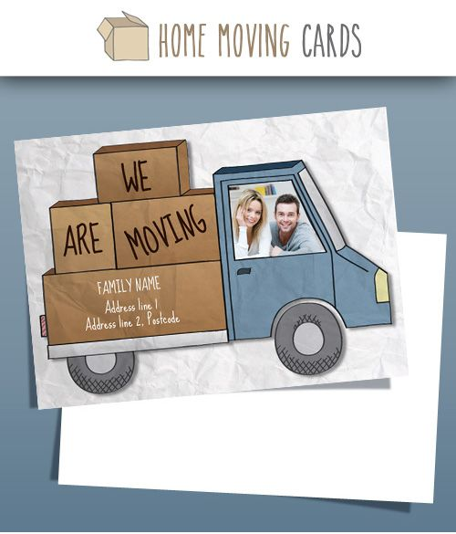Are you or any of your friends moving any time soon? Donu0027t forget - change of address templates
