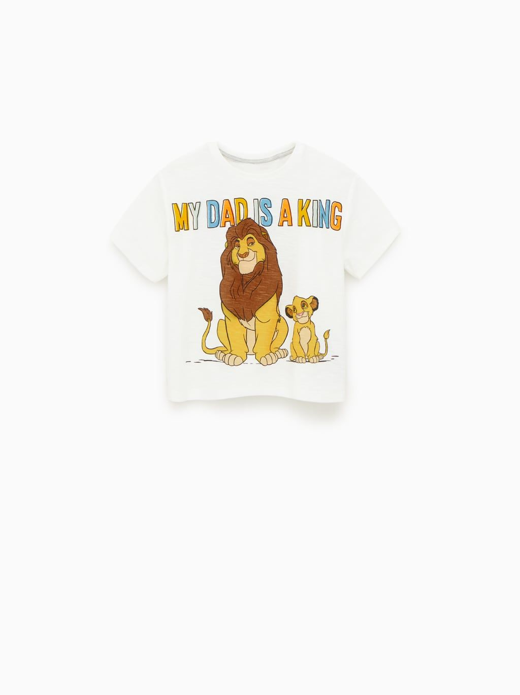 e725778c ©THE LION KING T - SHIRT-NEW IN-BABY BOY   3 mth - 4 yrs-KIDS   ZARA United  States