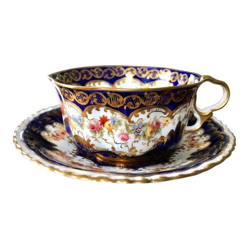 Antique Crown Staffordshire Tea Cup & Saucer Set #807 #teacups
