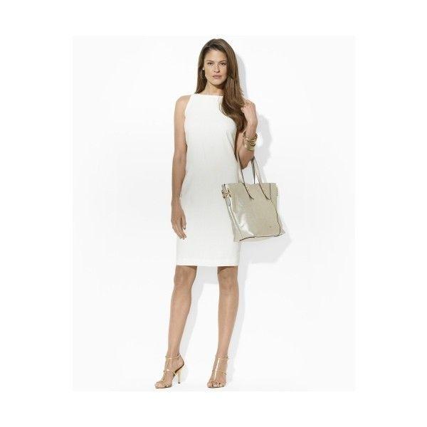 Ralph Lauren Linen Boatneck Dress ($105)