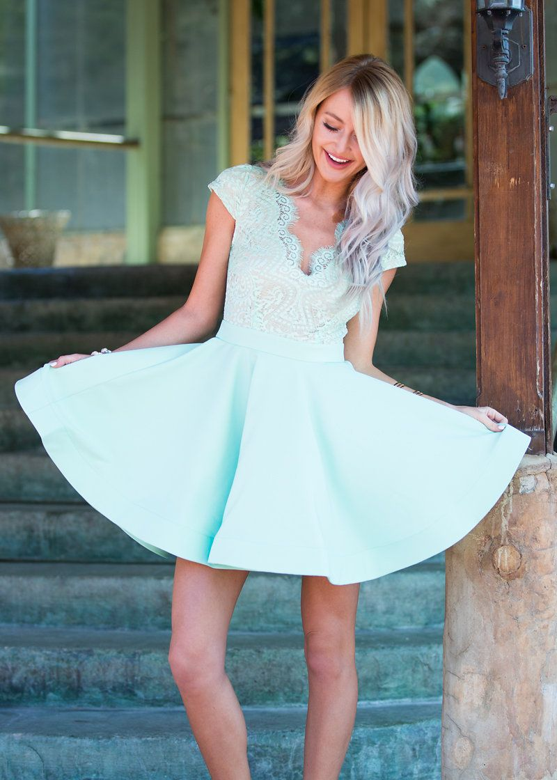 lace dress, ruffle dress, online boutique, boutique, party dress ...