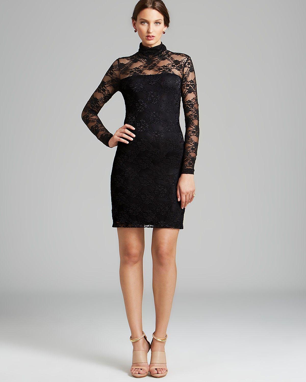 ab61827a1b4e5 Karen Kane Lace Turtleneck Dress