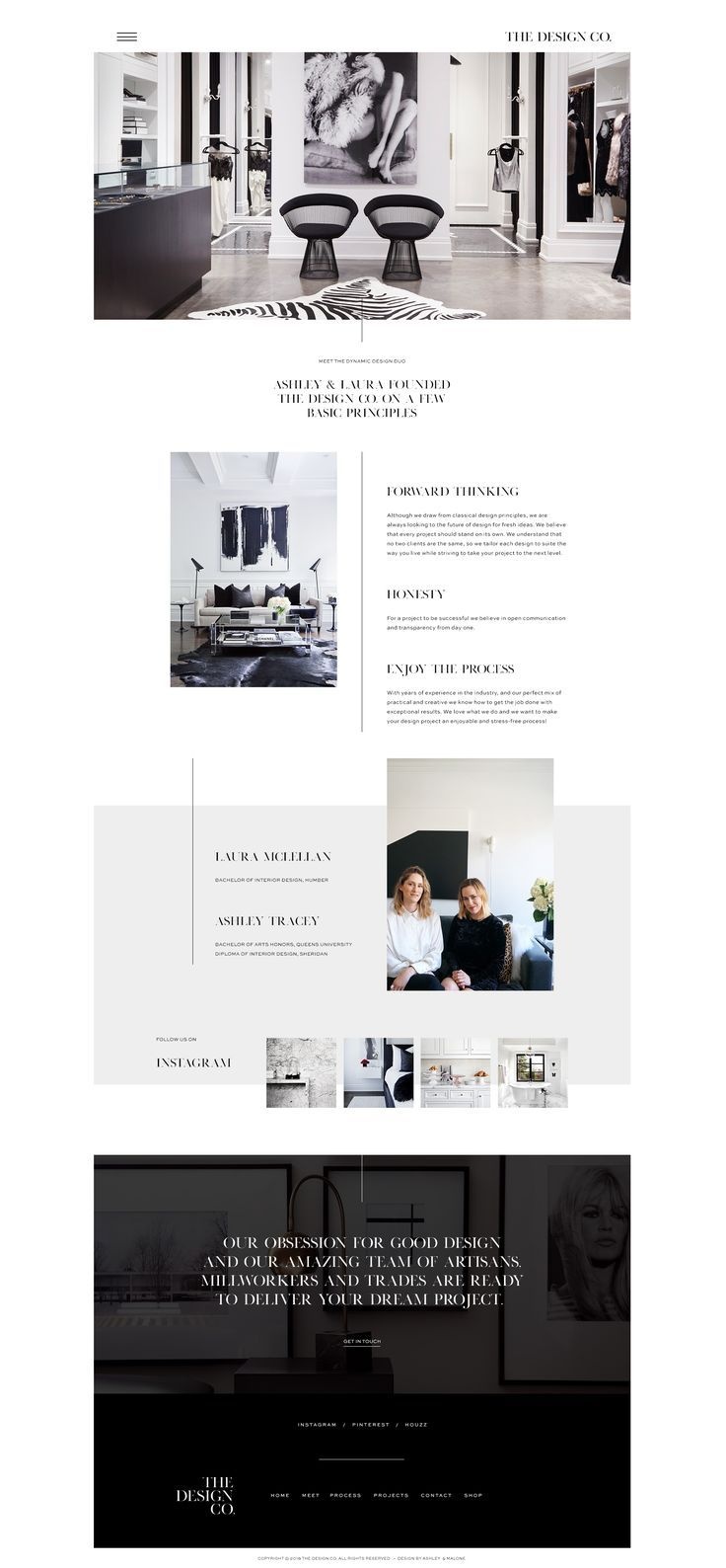 Photo of A modern, feminine and sophisticated yet very professional and functional web de…