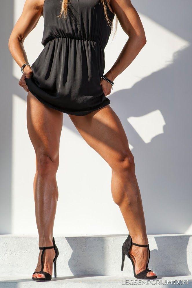 Lightweight President With Jiggly Legs >> Alena Chumakova Holy Shit Hot Muscular Legs Sexy Body