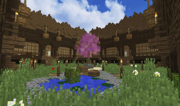 Cool Minecraft Garden Ideas | Minecraft Farm - Bib And ...