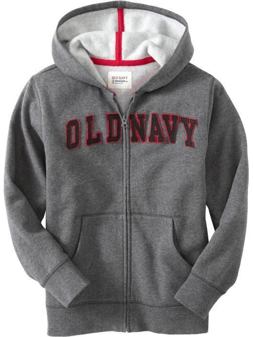 Navy Hoodie17 00Compras Boys Old Applique Logo trCsdBhQx
