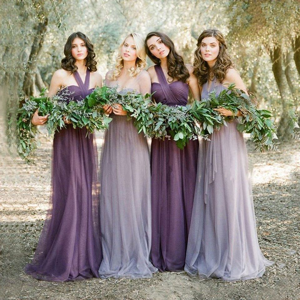 New purplelavender bridesmaid dresses vintage maid of honor beach new purplelavender bridesmaid dresses vintage maid of honor beach weddings ombrellifo Choice Image