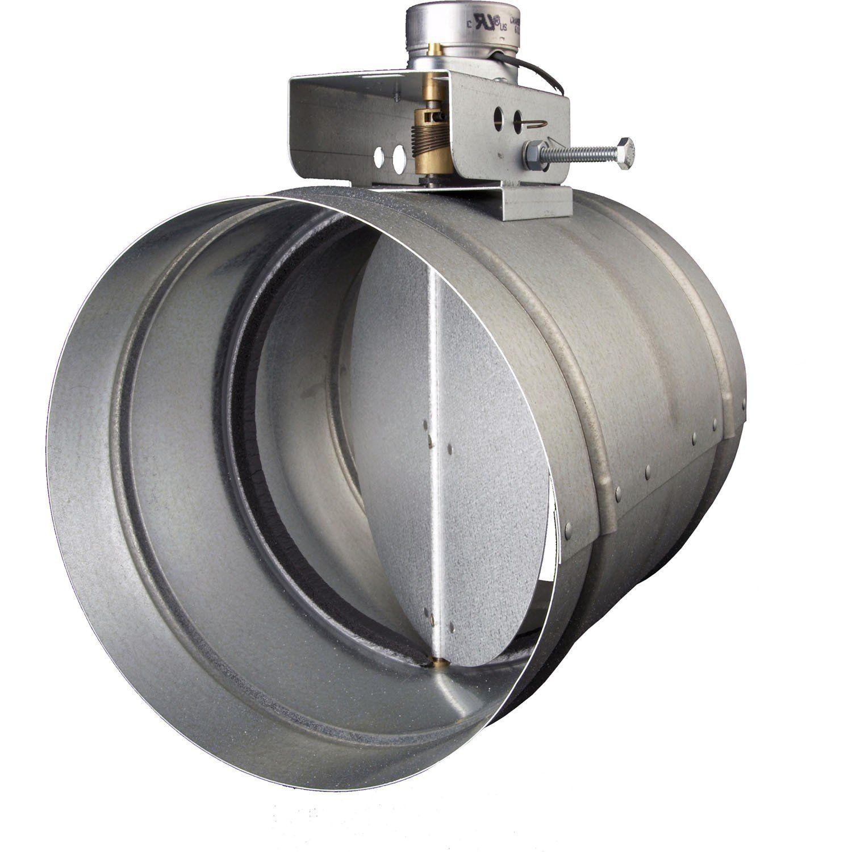 "Broan 10"" Universal Automatic MakeUp Air Damper MD10TU"