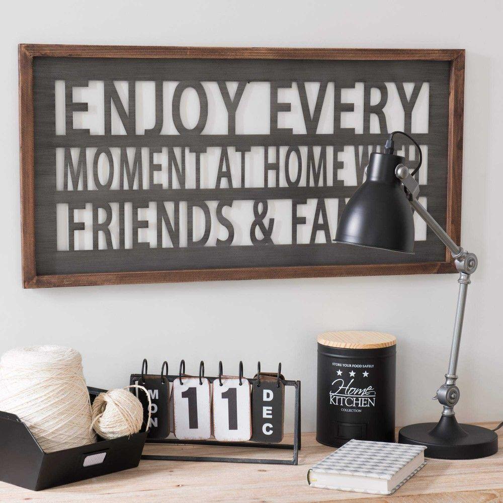 Casier en m tal noir 19 x 21 cm black graphic maisons du for Maison du monde 21