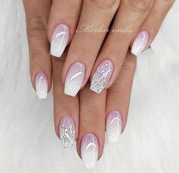 wedding nails40 beautiful and elegant nail designs 00039
