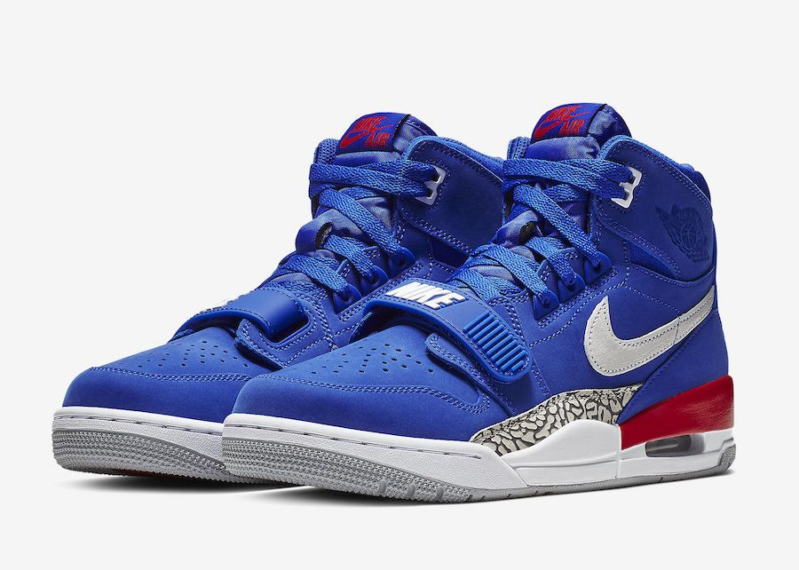 The Air Jordan Legacy 312 Pistons (Style Code  AV3922-416) comes dressed in  a Bright Blue White-University Red colorway as a nod to the Detroit Pistons. f8cf8e0a0