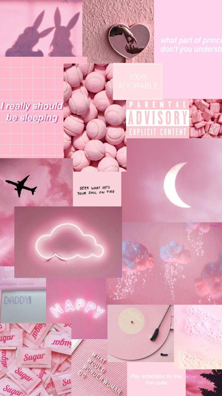 Pink aesthetic wallpapers - #aesthetic #fondecran #pink #Wallpapers