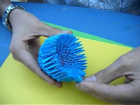 3d origami flower tutorial 3d origami pinterest origami 3d origami flower tutorial mightylinksfo