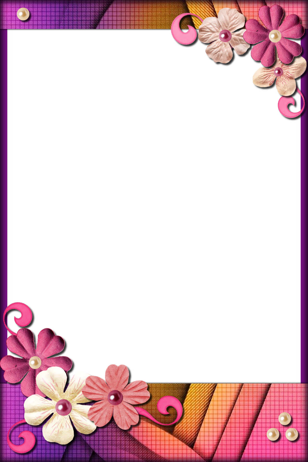 Decorative Frame Png Flower Background Design Boarders And Frames Frame Decor