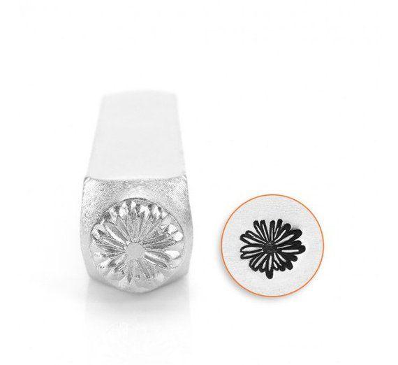 Leaf Right punch 9.5mm metal jewellery stamping ImpressArt Metal stamp