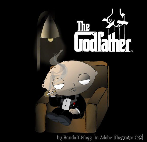 The Godfather Family Guy Stewie Family Guy Funny Family Guy