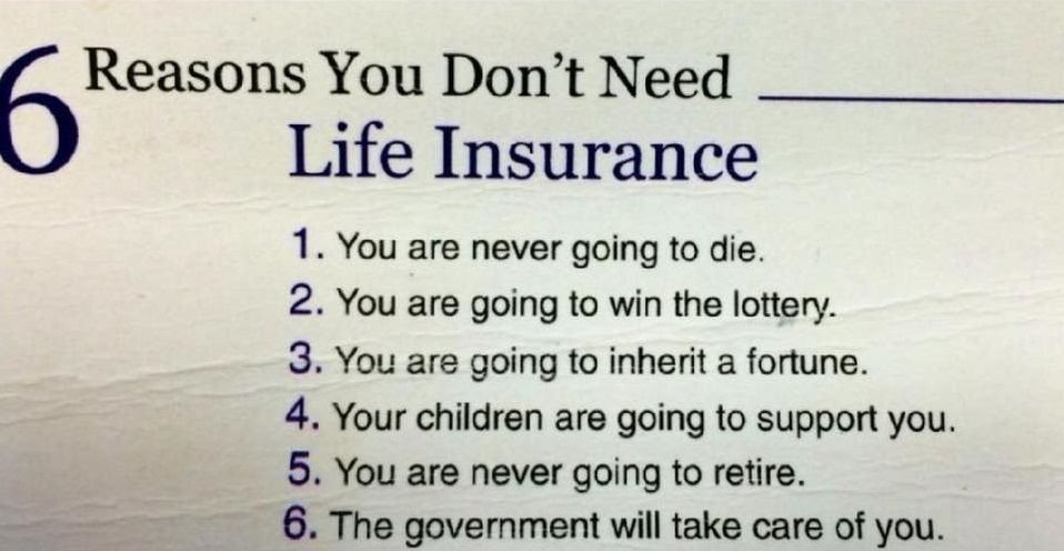 Sarcasm Gets Us Life Insurance Quotes Life Insurance Facts