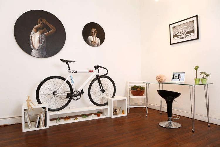 This Furniture Doubles As Beautiful Bike Storage For Tiny Apartments | Tiny  Apartments, Popup And Storage
