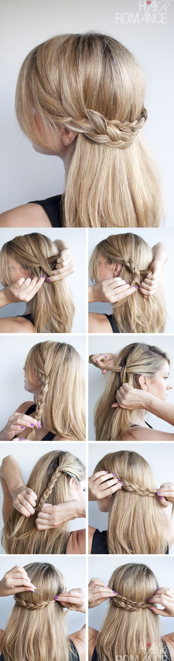 15 Ways To Make A Stylish Helmet Friendly Hairstyle Plaits Hairstyles Braided Hairstyles Easy Braided Hairstyles