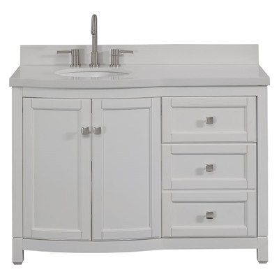 Allen Roth Vanity For Your Bathroom | Bathroom vanity ...