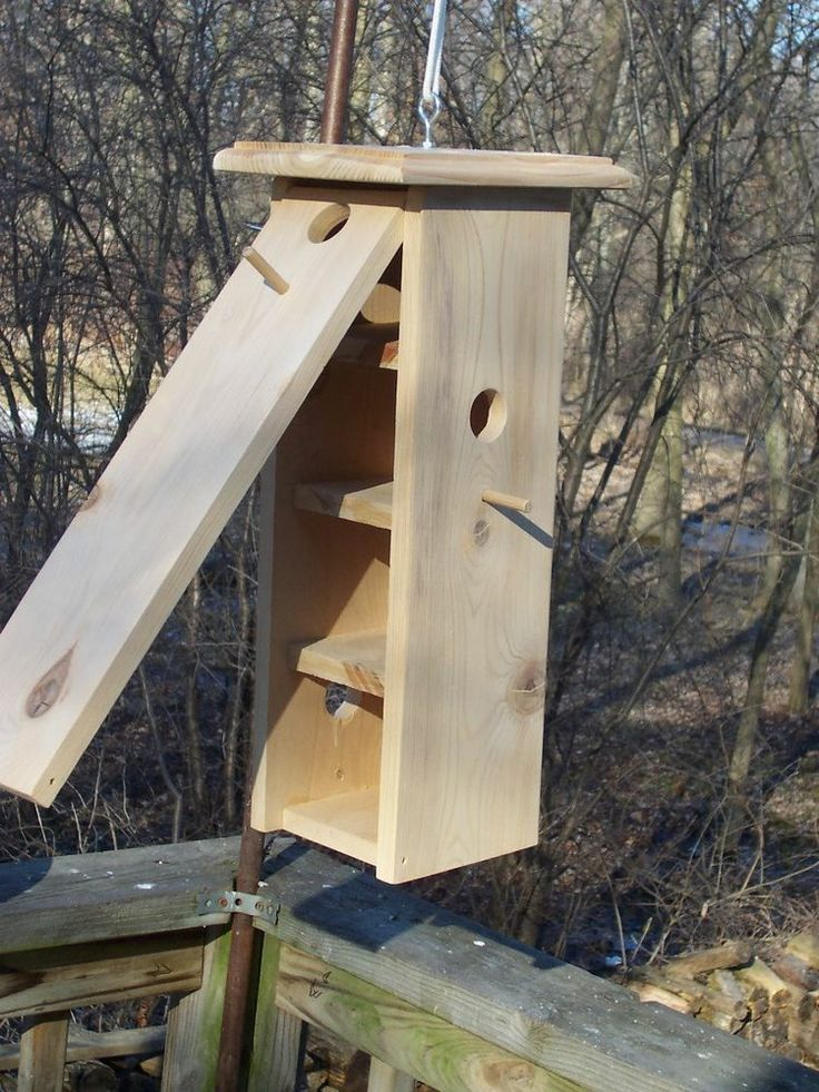 multi level bird house