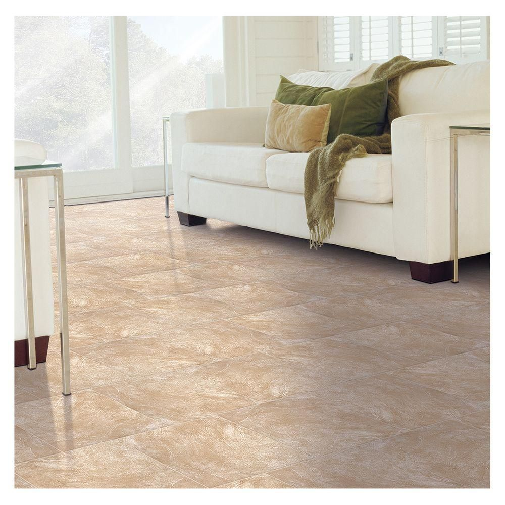 Trafficmaster portland stone beige 18 in x 18 in glazed ceramic trafficmaster portland stone beige 18 in x 18 in glazed ceramic floor and wall tile 1744 sq ft case dailygadgetfo Image collections