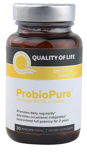 Quality of Life ProbioPure -- 125 mg - 30 Veggie Caps